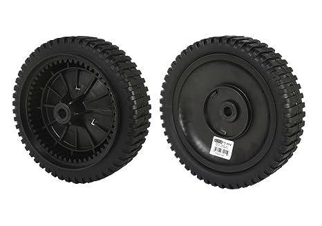 cc746c0b5ca Amazon.com   Oregon 72-014 Replacement Front Drive Wheels - 2 Pack ...