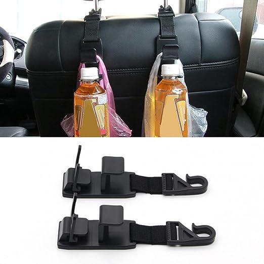 2 piezas de ganchos para el reposacabezas del asiento ...