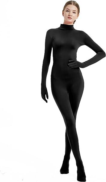 Full Bodysuit Womens Costume Without Hood Lycra Spandex Zentai Unitard Body Suit