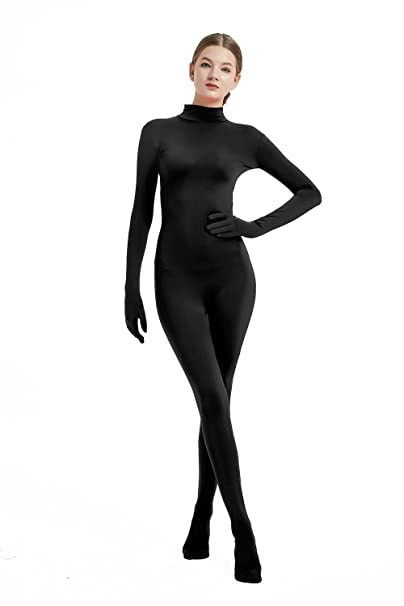Full Bodysuit Womens Costume Without Hood Lycra Spandex Zentai Unitard Body Suit
