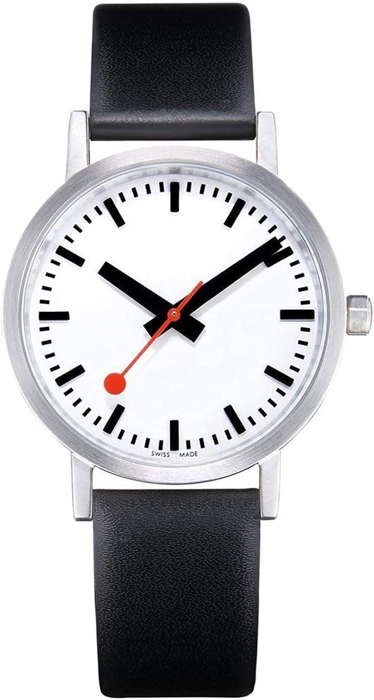 Mondaine Reloj Analógico para Unisex Adultos de Cuarzo con Correa en Acero Inoxidable A660.30360.16OM