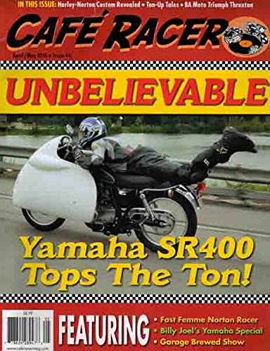 Cafe Racer (April/May 2016 - Yamaha SR400) for sale  Delivered anywhere in USA