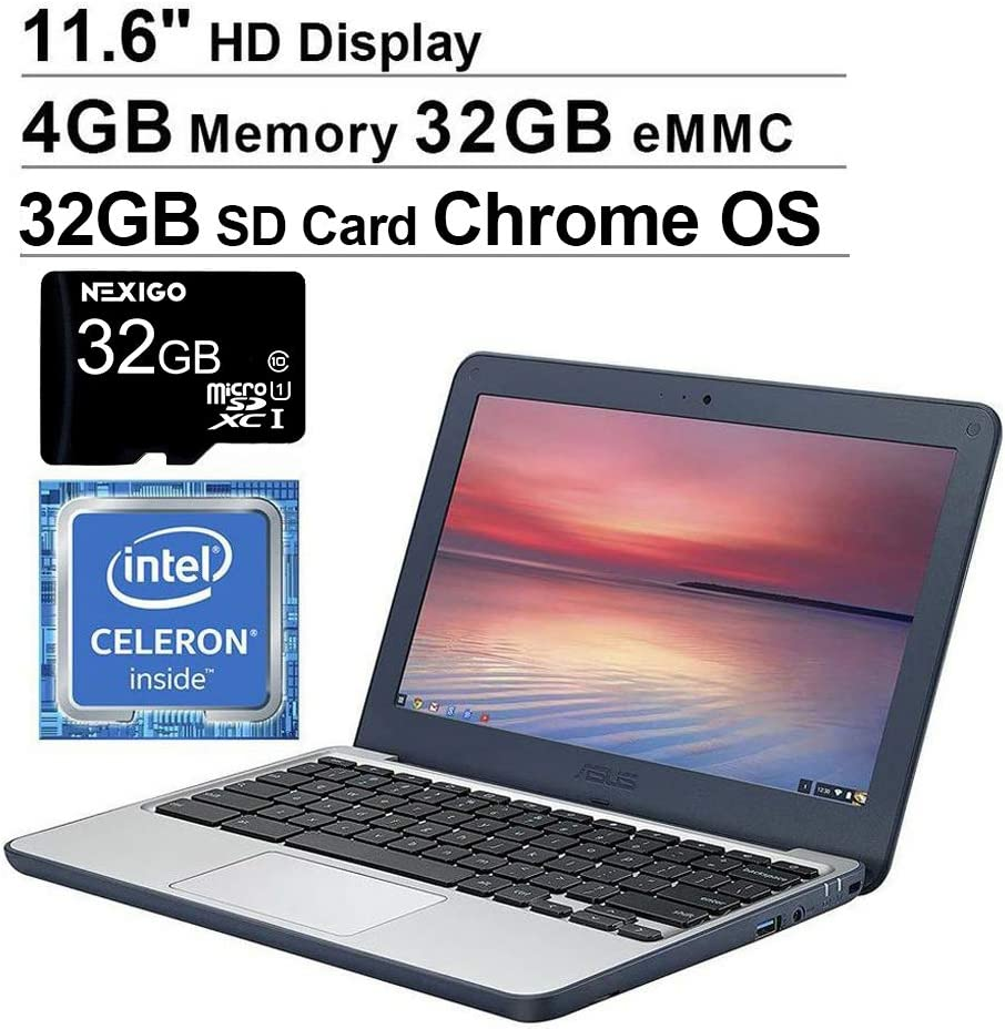 2020 newest Asus Chromebook 11.6 inch student laptops