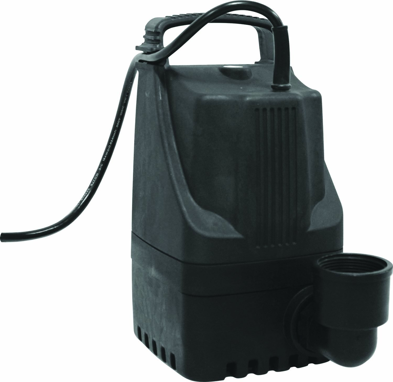 EasyPro Pond Products TLS1850 Spirit Pond and Waterfall Pumps, 1850 GPH
