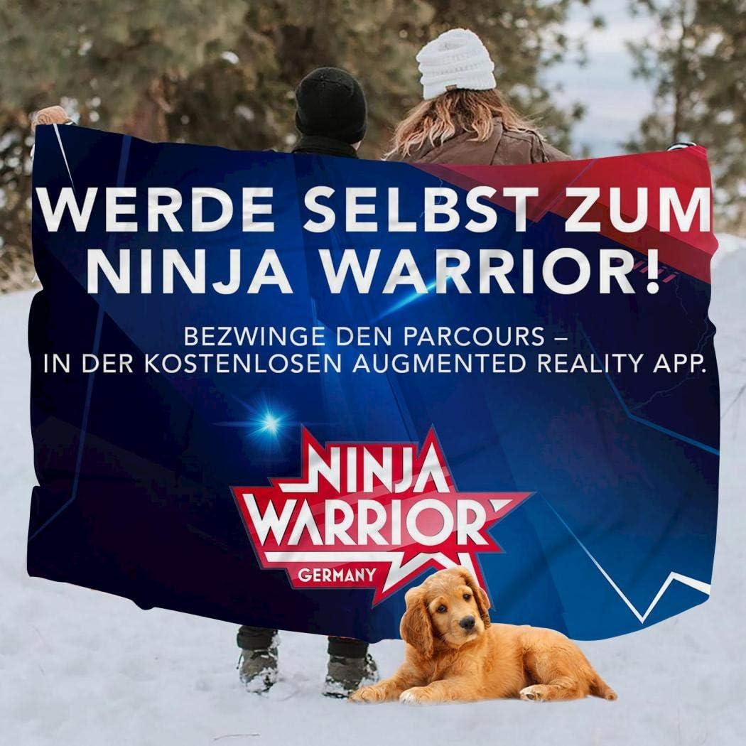 YFFHHH Ninja Warrior - Manta de Alta Densidad, Muy Suave y cómoda ...
