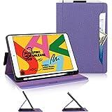 Skycase iPad 10.2 Case,iPad 8th Generation Case 2020,iPad 7th Gen Case,[Built-in Pencil Hoder][Multi-Angle Viewing]Stand Foli