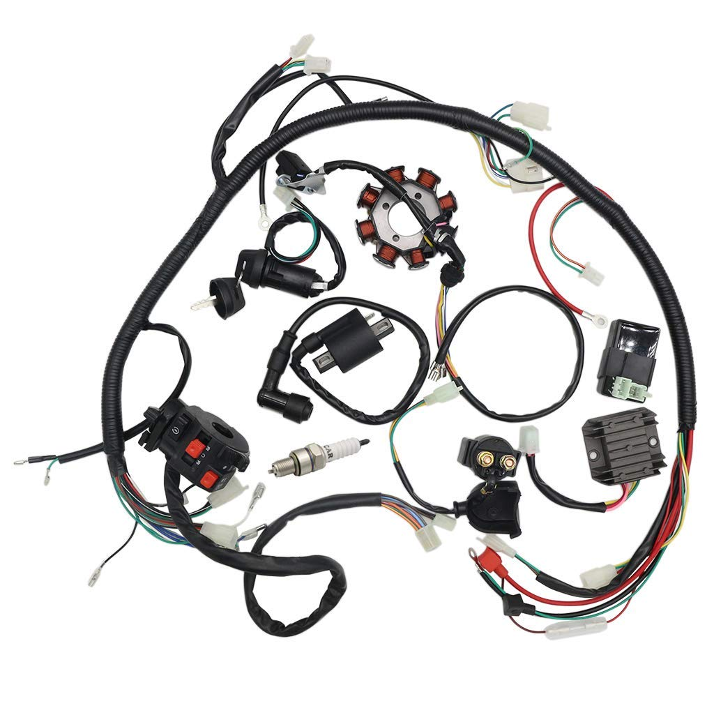 Wiring Harness Wiring Diagram On Light Wiring Diagram For Motorcycle