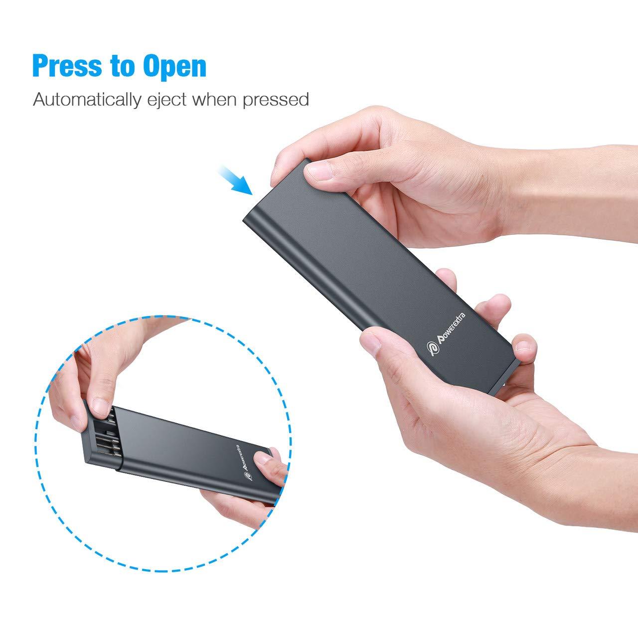 Powerextra Juego de Destornilladores de Precisión herramienta de Reparación de precisión magnética 24 en 1 con caja Reparación para teléfono inteligente Tableta PC Computadora portátil Gafas Relojes