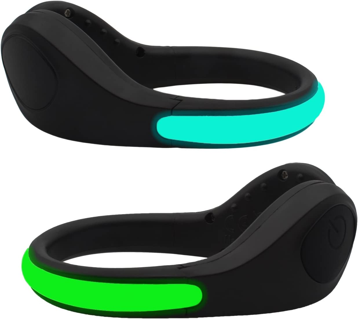 be-seen blinking safety Light Clip on clothing  Running Bike Cycling Jogging