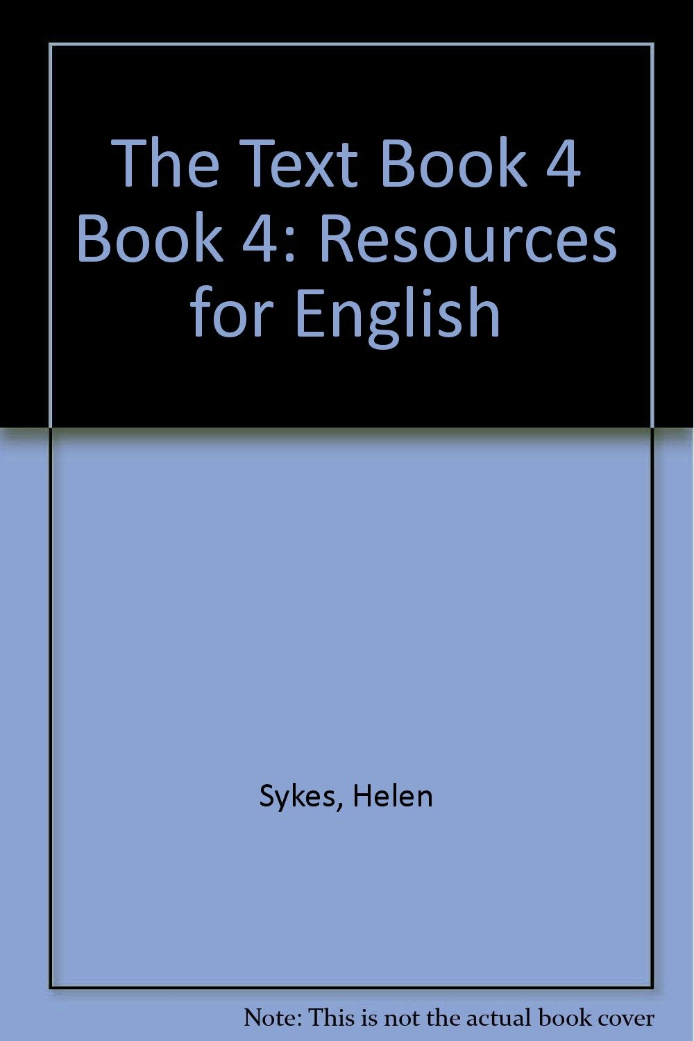 The Text Book 4 Book 4: Resources for English ebook