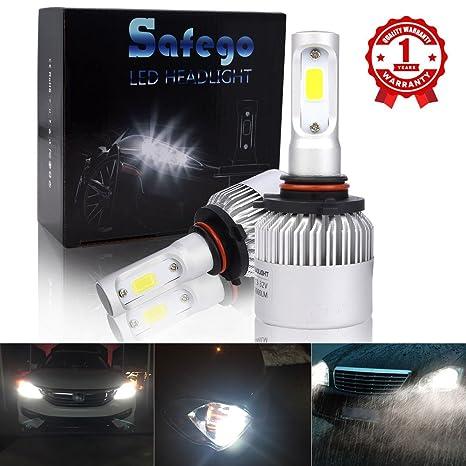 Safego 2x 9005 HB3 Faro Bombillas Alquiler de luces LED 60W 8000LM brillante estupendo de la