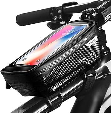 PROZADA Bolsa Bicicleta Impermeable, Bolsa de Bicicleta con ...