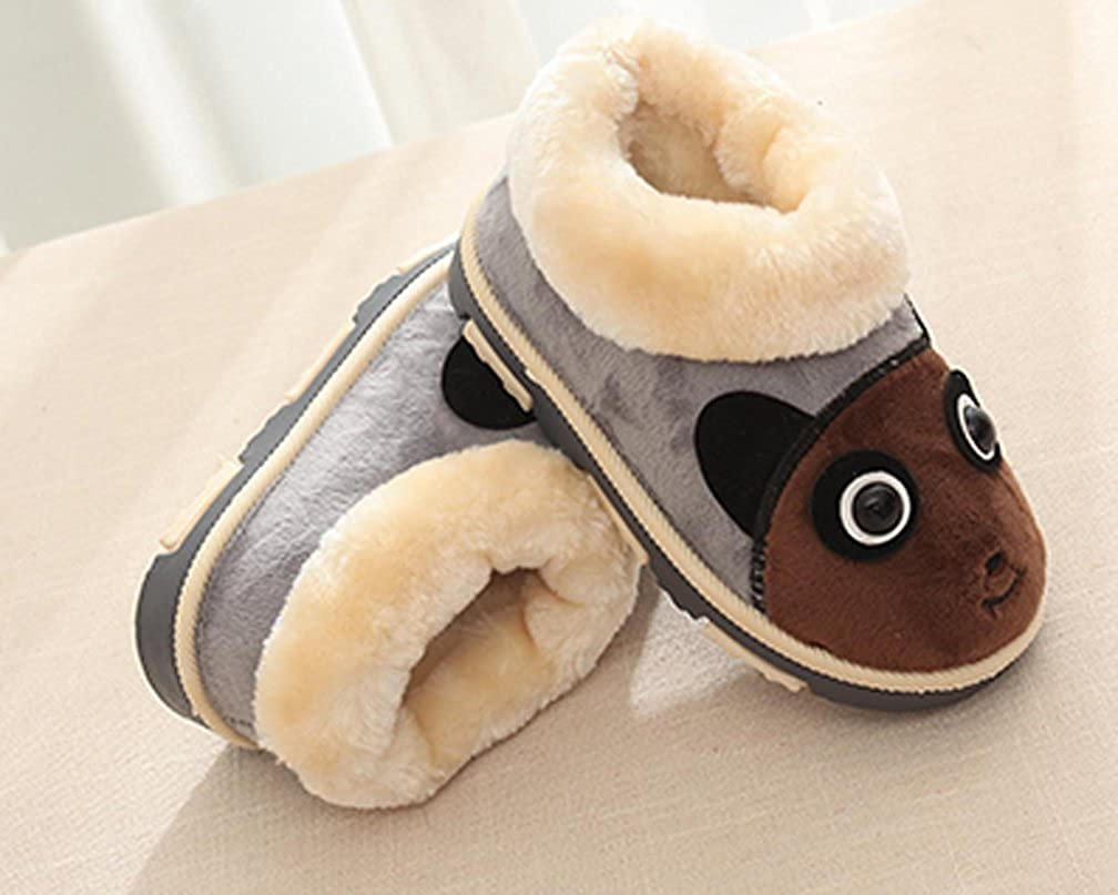 Cattior Little Kid Cartoon Winter Warm Kids Shoes Snow Shoes