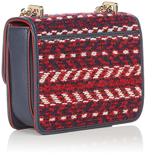 Tommy HilfigerTURN LOCK MINI CROSSOVER - Borse a Tracolla Donna Mehrfarbig (Corporate Tweed 901 901)