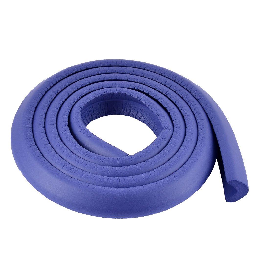 uxcell Furniture Corner Edge Softner Guard Protector Cushion 2M Long Blue