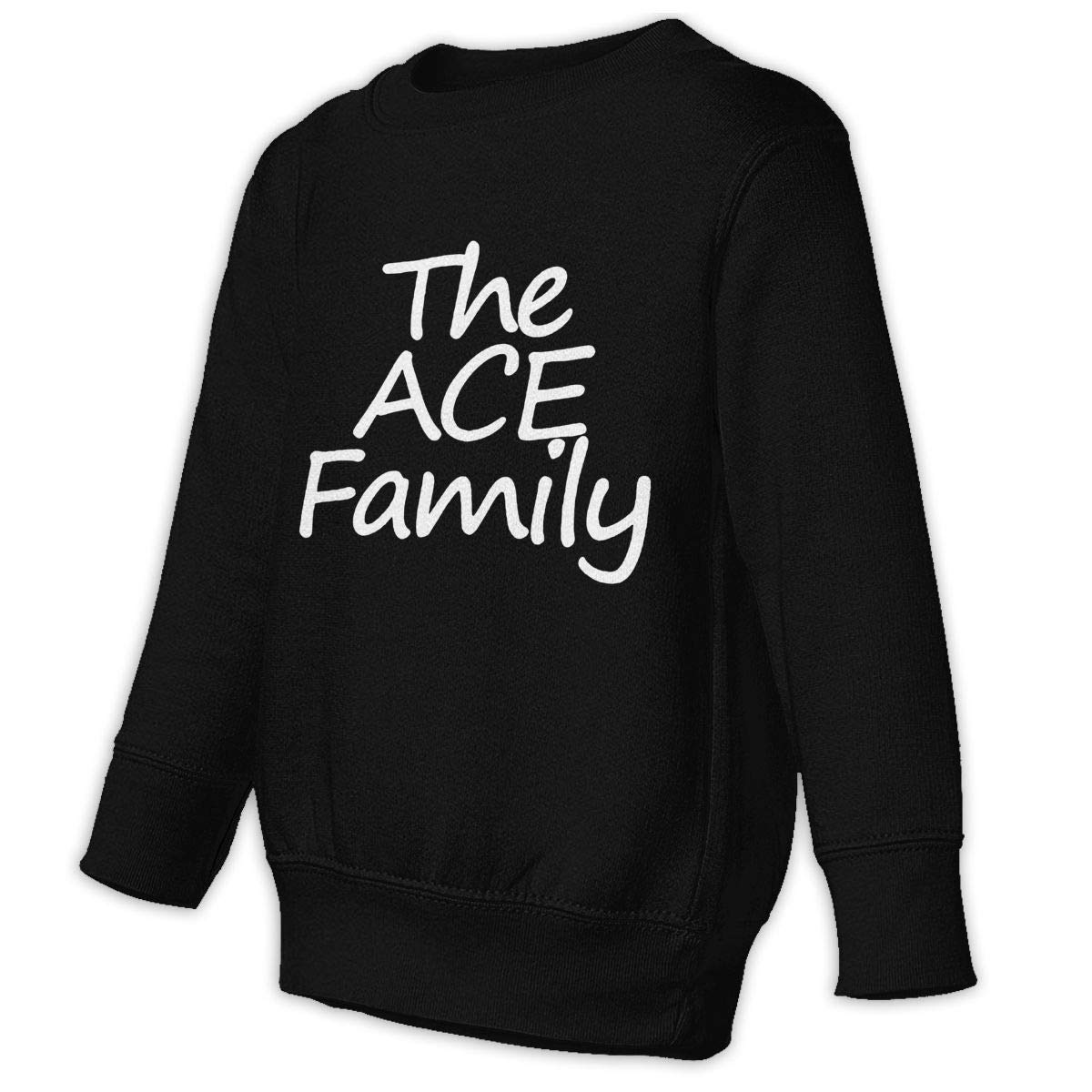 The ACE Family Kids Hip Hop Hoodie Classical Sweater Round Collar Hooded Sweatshirts