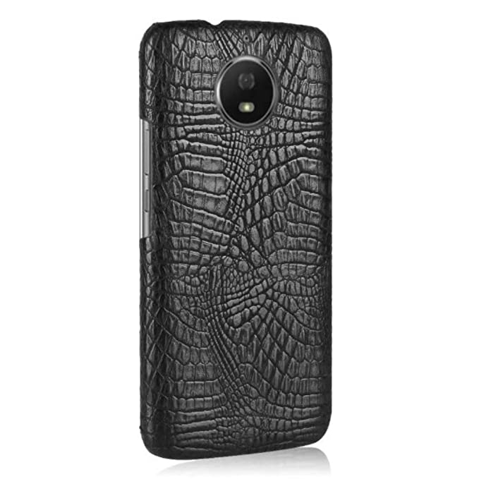 Moto E5Plus Crocodile Case, 3D Cool Crocodilian Cayman Alligator Slim Cover, TAITOU Fashion Ultralight Thin Anti-Scratch Case For Motorola E5 Plus ...