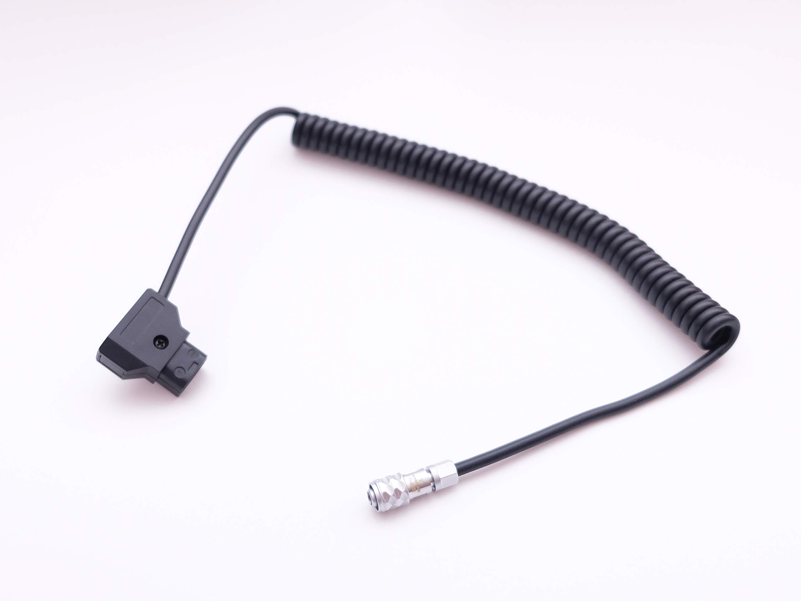 D-Tap DTap Power Cable Coiled Cable for BMPCC 4K Blackmagic Pocket Cinema Camera