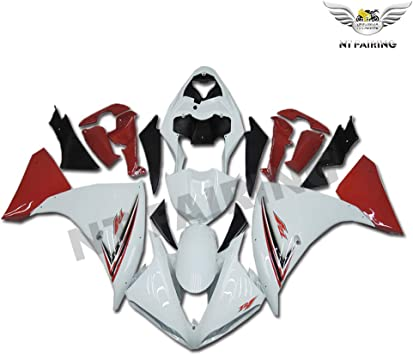 New Red White Black Fairing Fit for YAMAHA 2003 2004 2005 YZF R6 Injection Mold ABS Plastics New Bodywork Bodyframe