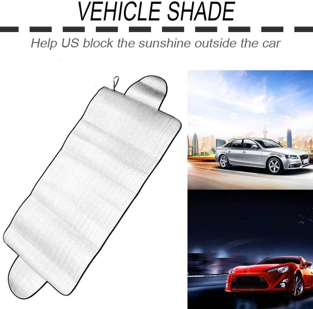 XINFULUK Multipurpose-Auto-Windschutzscheibe Abdeckung Anti Shade Frost EIS Schnee-Schutzh/ülle UV-Fading-Staub-Beweis Cotton Auto-Abdeckungen Silber