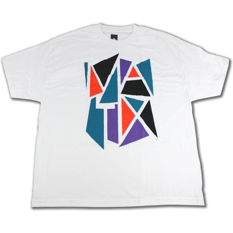 MATIX Skateboard T-SHIRT MOS WHITE SZ: 2XL (XXL)