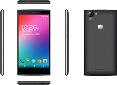 Micromax Canvas Play 4G | Q469 | Moon Dust Grey Smartphones at amazon