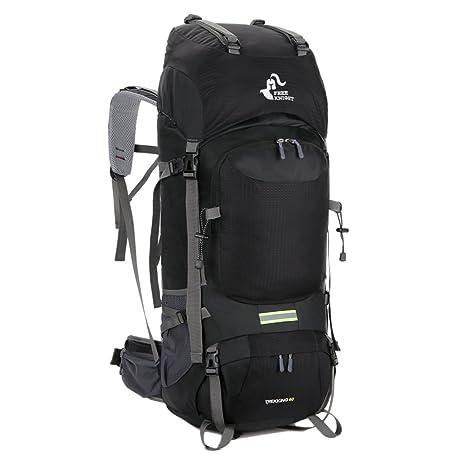 bec07f12e9 Free Knight 60L Hiking Backpack Mountaineering Camping Trekking Travel Bag  Large Capacity Rucksack Internal Frame Water