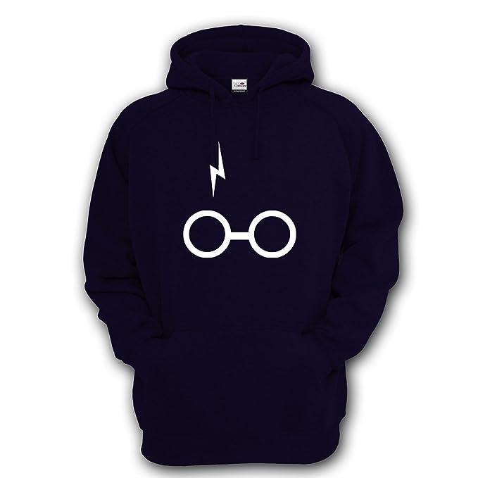 ShenLiNan - Sudadera con capucha, diseño inspirado en las gafas y cicatriz de Harry Potter: Amazon.es: Ropa y accesorios