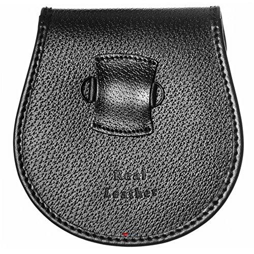 Demi-robe escarcelle de lapin de noir glands de chardon percé plaque métallique de chardon