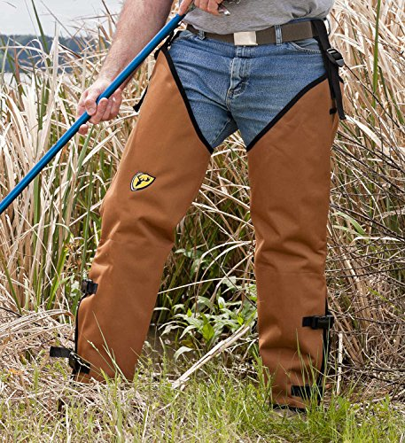"33"" to 36"" Inseam, 25"" Thigh, ScentBlocker Snake Chaps by Whitewater"