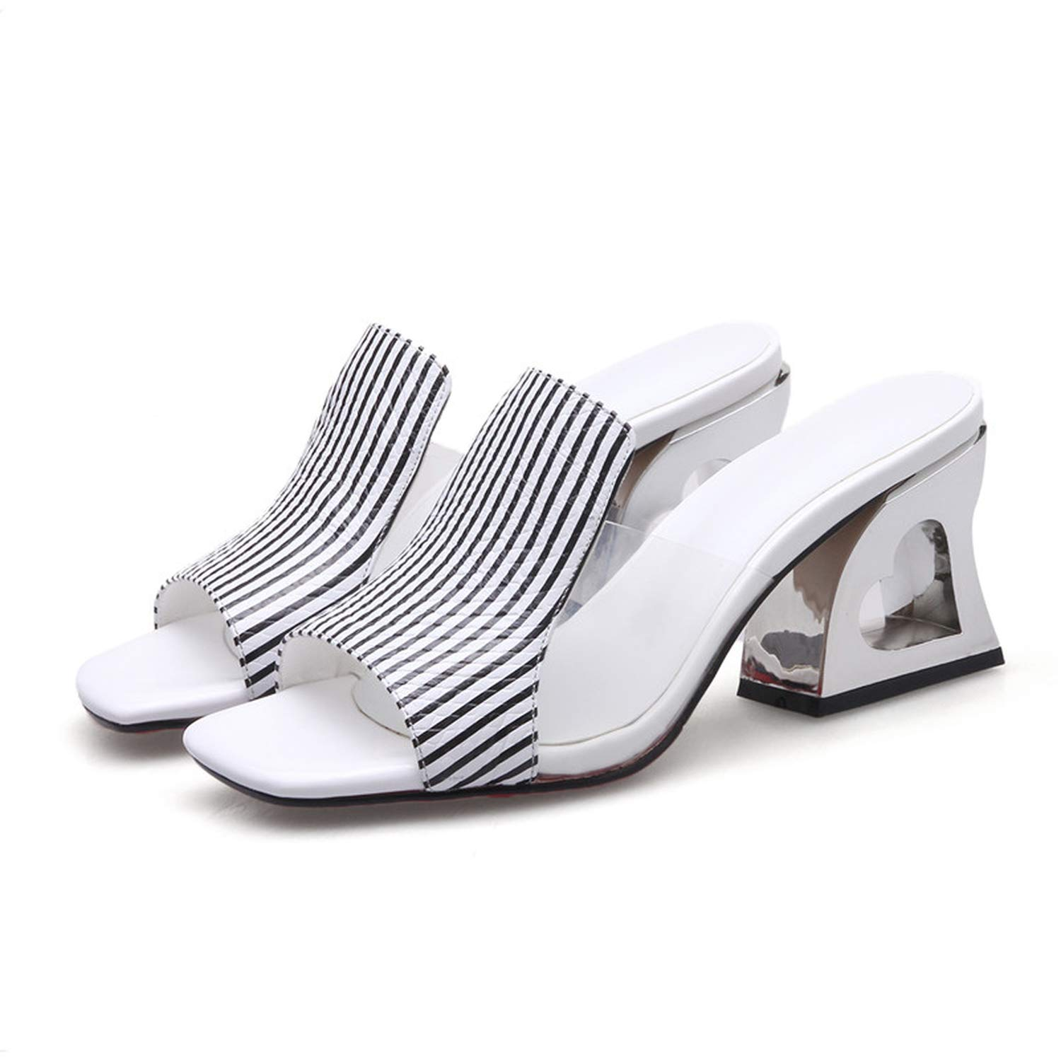 White I Need-You Fashion Peep Toe Summer Women Sandals Genuine Leather shoes Woman Strange Style Heels Casual Slippers Female Sandals