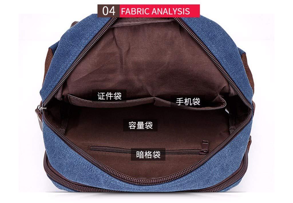 GQFGYYL Canvas - - - Tasche, Retro - Freizeit - männer und Frauen - Rucksack Schultern, Studenten - Tasche,schwarz B07HXSSSPY Daypacks Meistverkaufte weltweit be6bfd