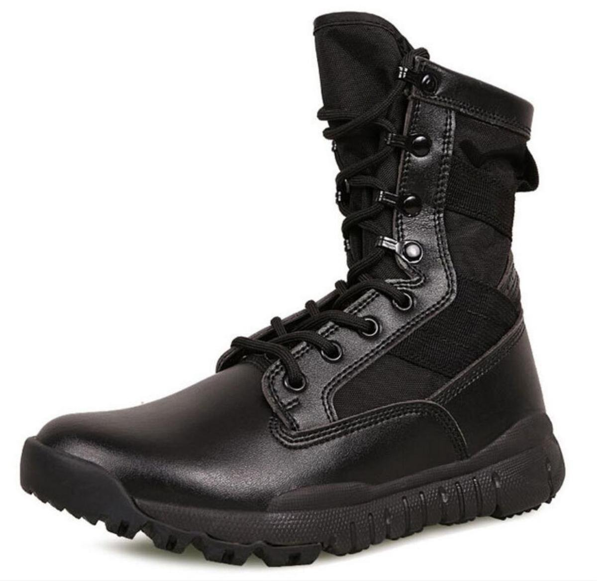 Neue Männer Stiefel Anti-Rutsch bequeme Outdoor Schuhe Größe 38-45 Schwarz
