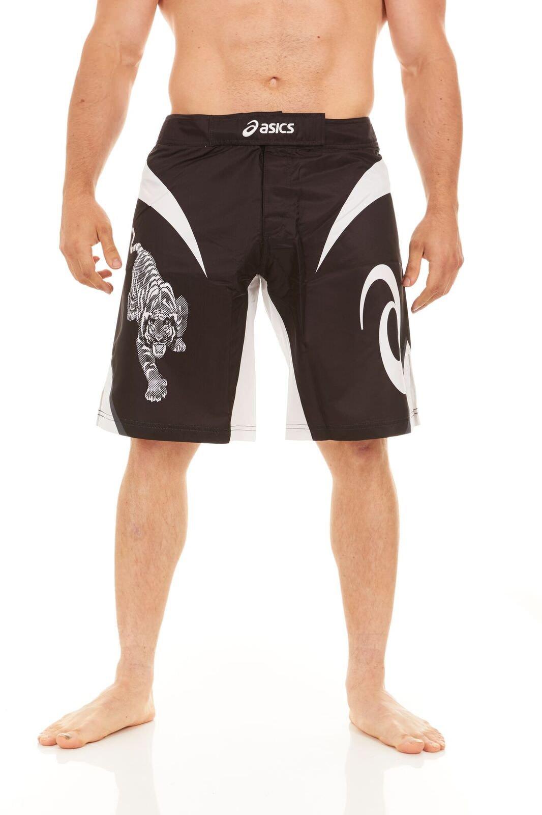 Asics Men's Bull Short, Black/White, 34