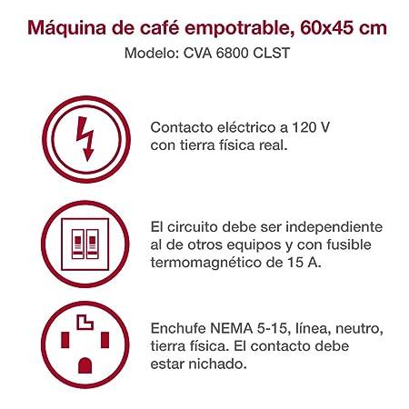 Amazon.com: Miele cva6800 60 cm, sistema de café, Pureline ...
