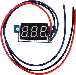Corrente continua DC 0,9cm LED display digitale voltmetro pannello Hillrong