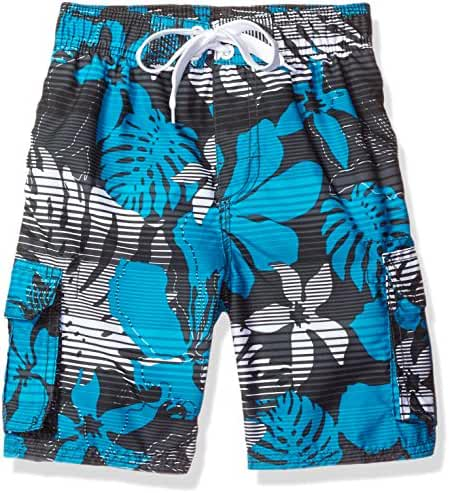 Kanu Surf Baby Toddler Boys' Paradise Floral Swim Trunk