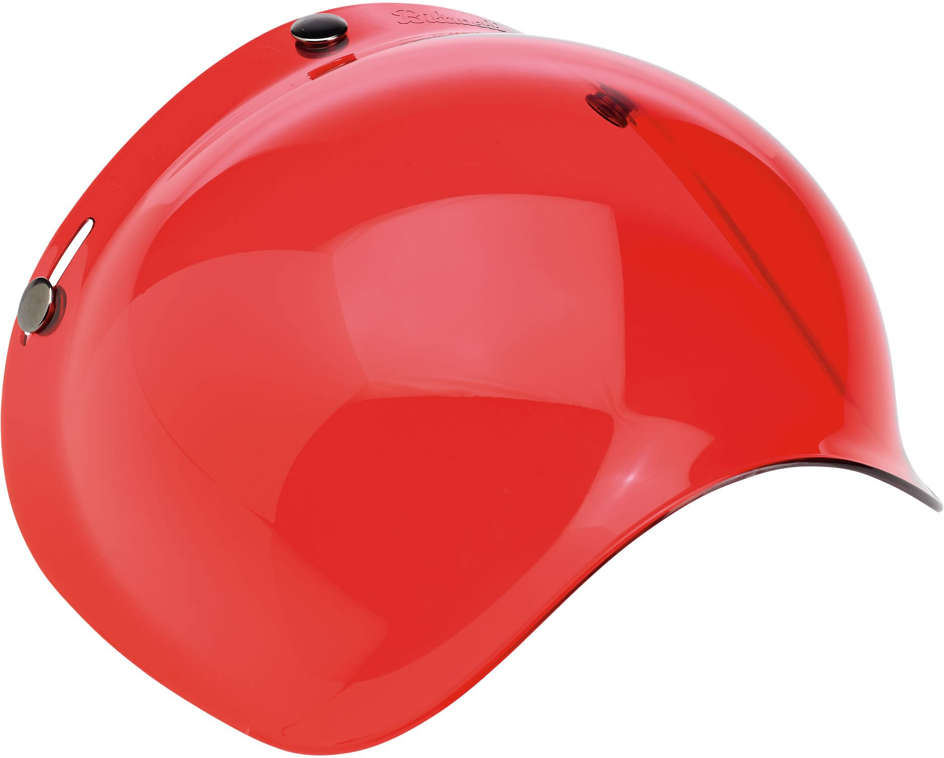 Biltwell Solid Bubble Shield (Rose, One Size)