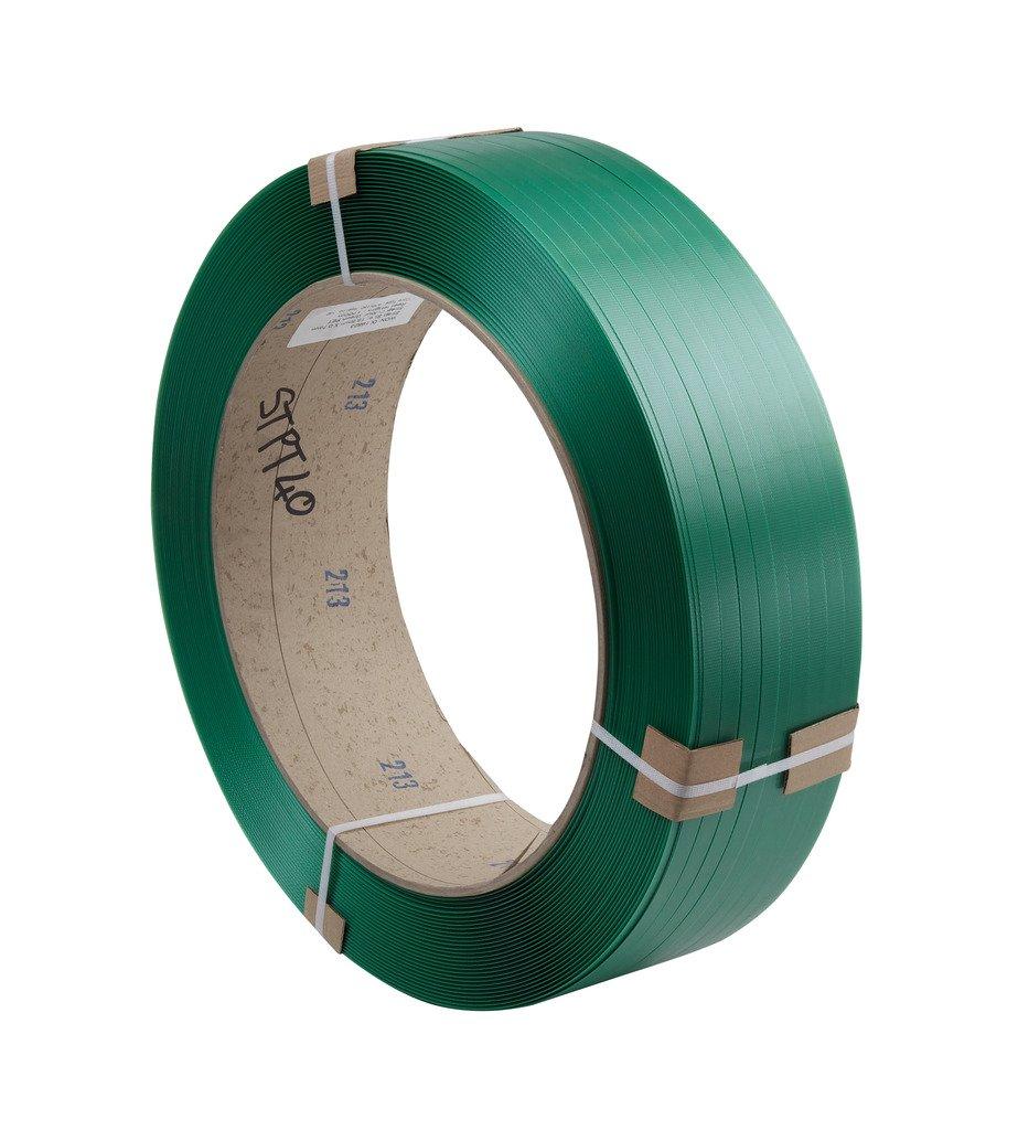 15,5/mm de ancho x 0,85/mm de grosor X 1500/M de longitud verde swiftpak 6082/Disipador de tarjeta Core Strapping 406/mm//150/mm poli/éster