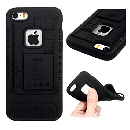 Amazon.com: Carcasa para iPhone 5/SE, de 6.5 in ...