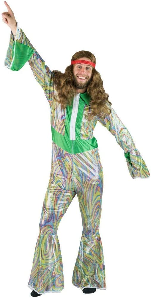 Bodysocks Fancy Dress Disfraz de Disco Dancer de los 70 y 80 para ...