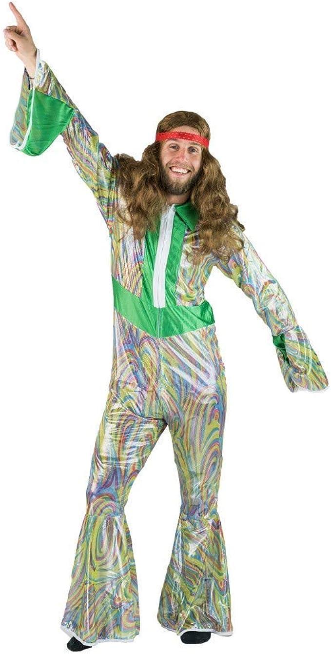 70s Costumes: Disco Costumes, Hippie Outfits Bodysocks 70s & 80s Disco Dancer Mens costume $17.99 AT vintagedancer.com