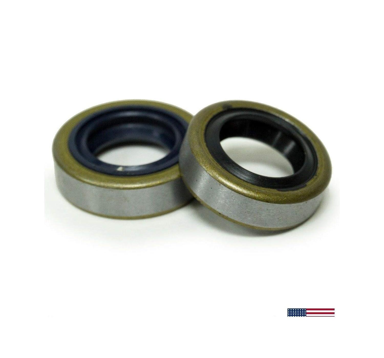 2-Packs Crankshaft Oil Seal Set for SТІНL Ts410 Ts420 Ts500I Cut Off Saws