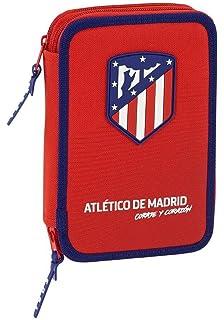 Atlético de Madrid Plumier de 2 Pisos con Material Escolar ...