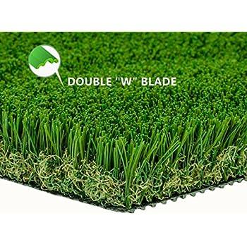 Amazon Com Pzg Artificial Grass Rug W Drainage Holes