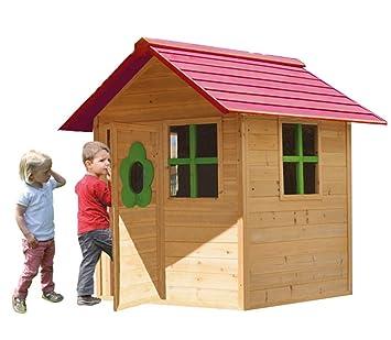 Casita Infantil de Madera Outdoor Toys Armelle: Amazon.es: Juguetes y juegos