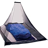 KIKAR Pyramid Single Compact Outdoor Mosquito Net - Black
