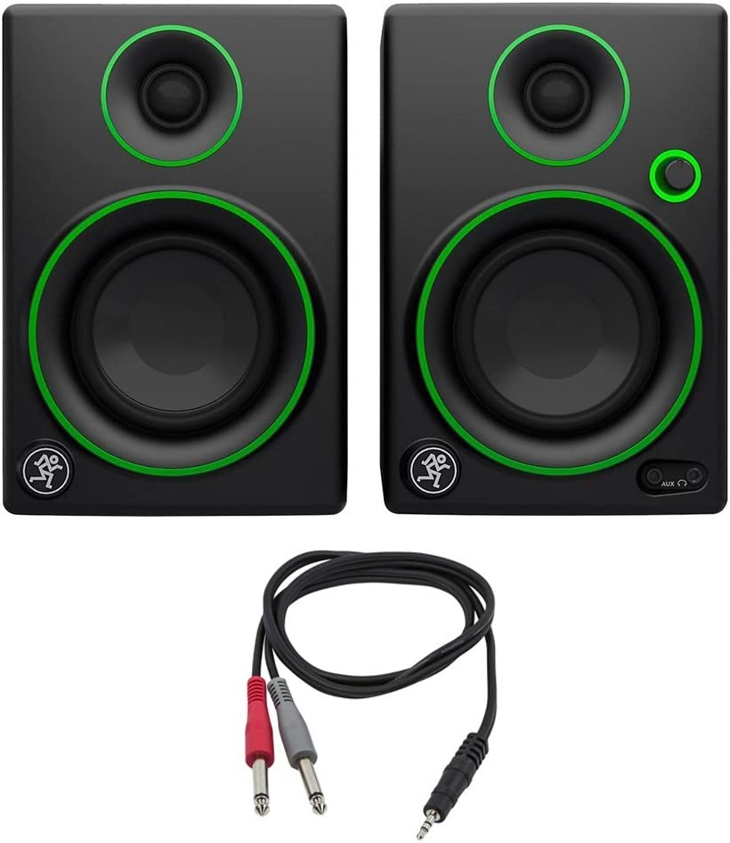 """6. Mackie CR Series CR3 - 3"""" Creative Reference Multimedia Monitors"""