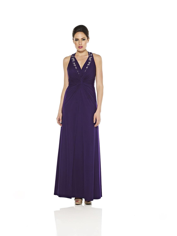 Dynasty Women's Evening 1012326 Halterneck Dress
