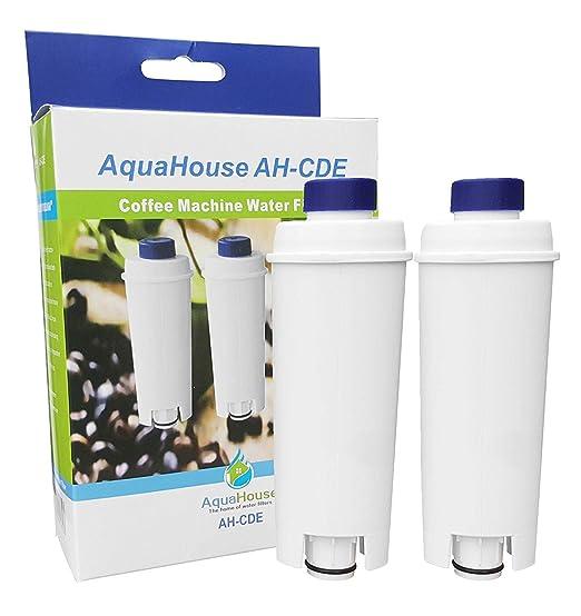 2 x aquahouse ah-cde Compatible filtro para Delonghi dlsc002 ...